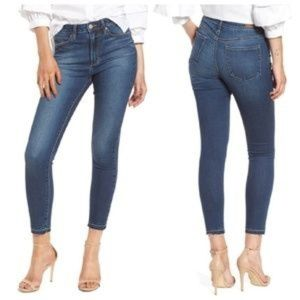 Articles of Society Heather High Rise Crop Sz 28